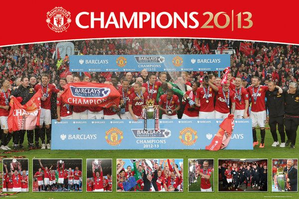 Manchester United 2012/2013 - plakat 61x91,5 cm