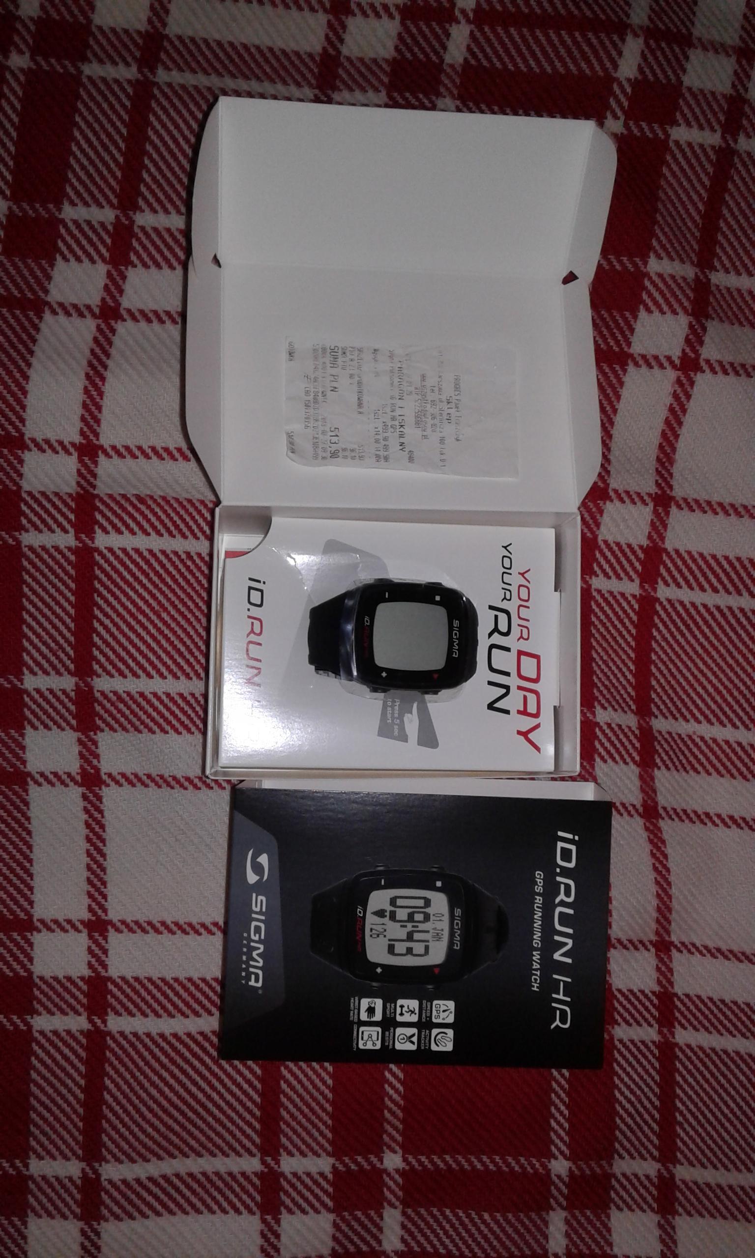 Zegarek sportowy Sigma ID Run HR - GPS, pulsometr