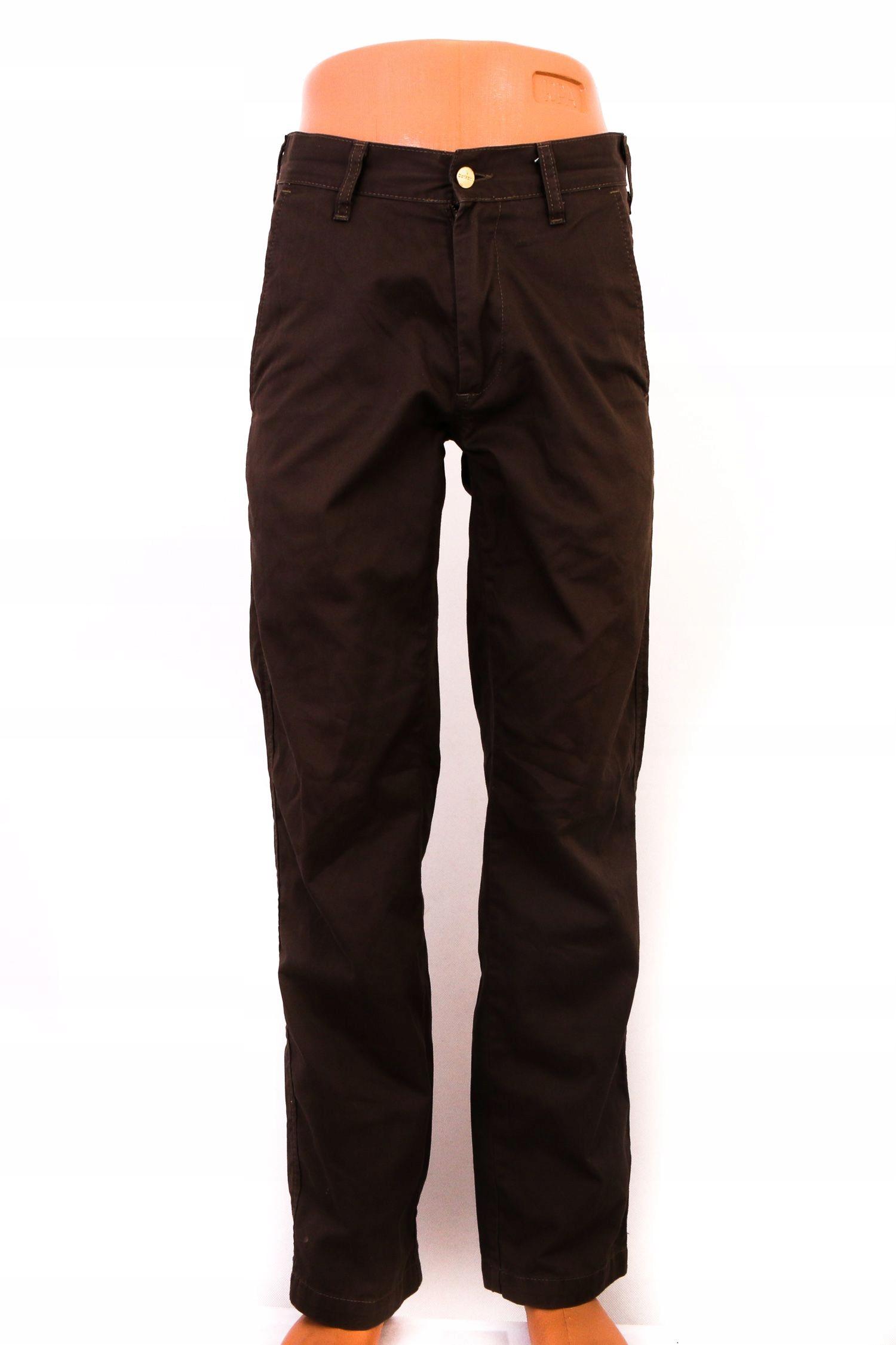 Carhartt Spodnie Męskie Materiałowe roz W29 L32