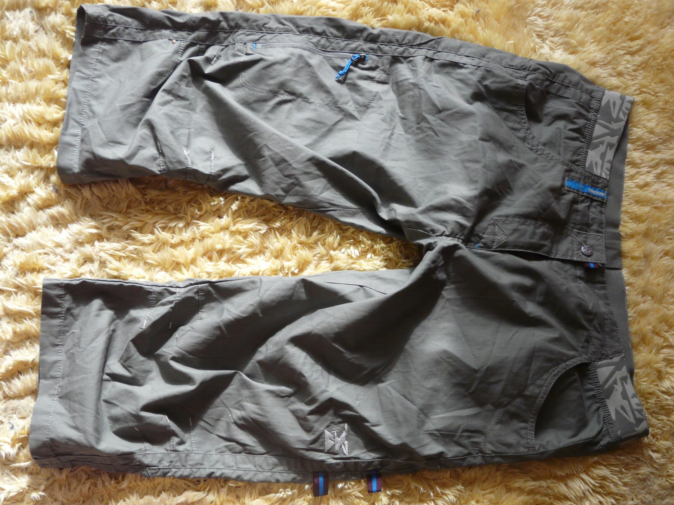 SIMOND spodnie wspinaczkowe r.L pas od 88cm