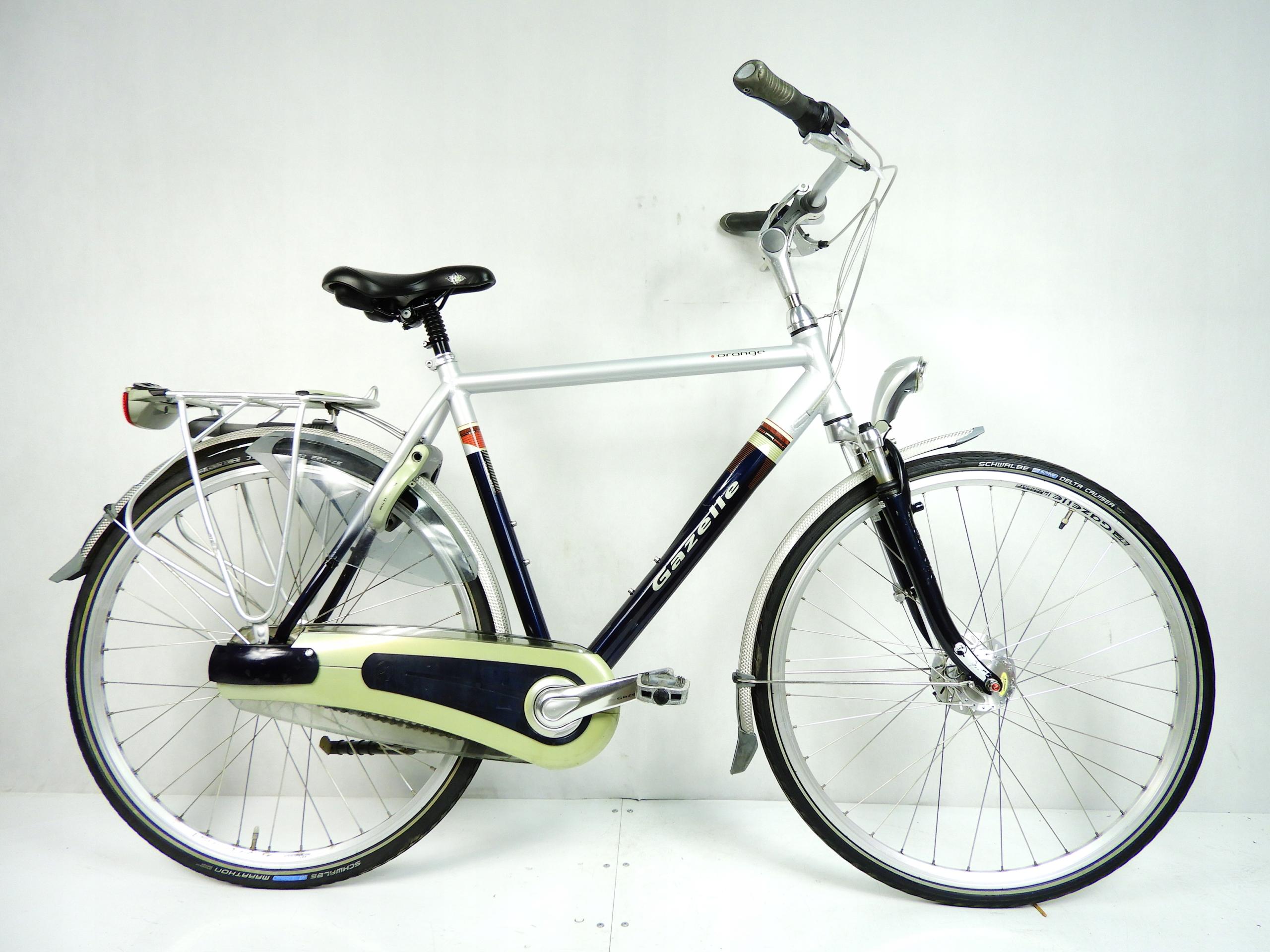 Gazelle Orange, Shimano Nexus 7, rower holenderski