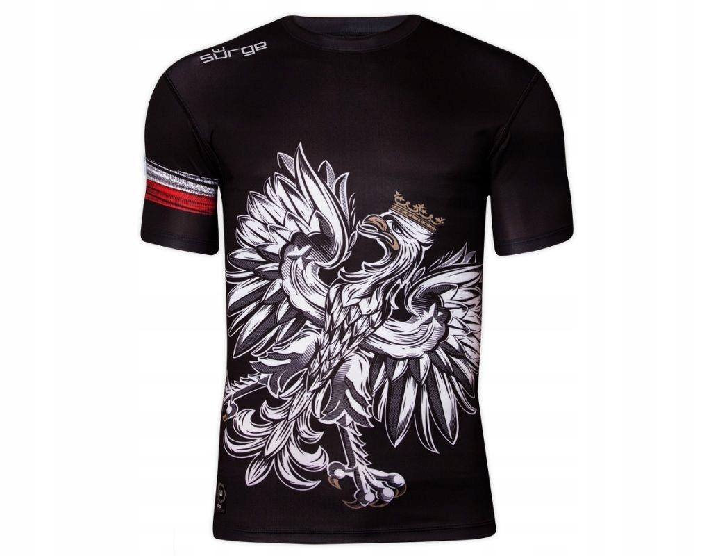 koszulka męska rashguard SURGE POLONIA ORZEŁ #XXL