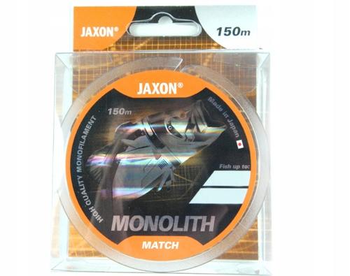 żyłka MONOLITH MATCH jaxon 150m japan 7kg 0,18mm