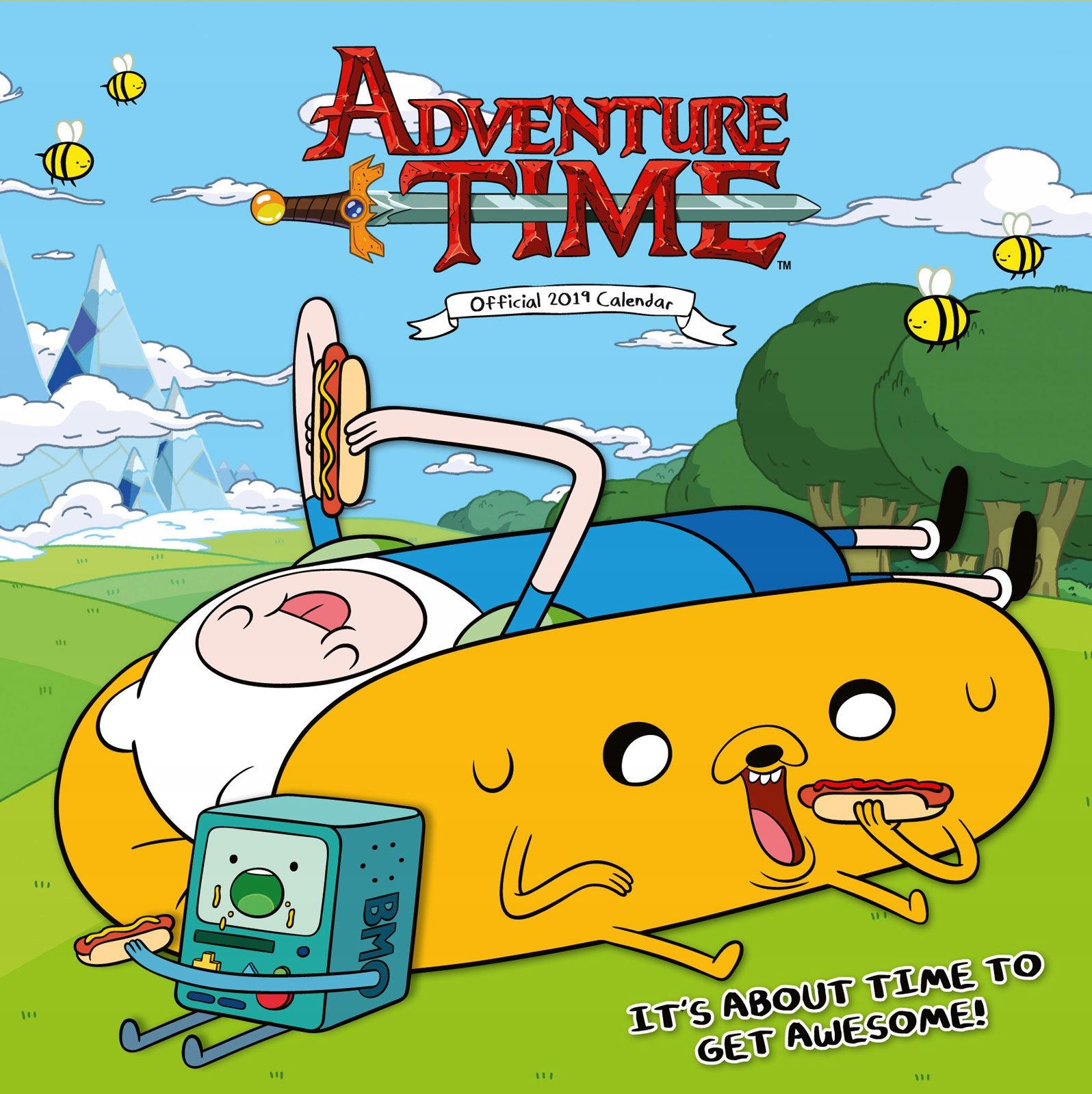 Adventure Time - kalendarz na 2019 rok