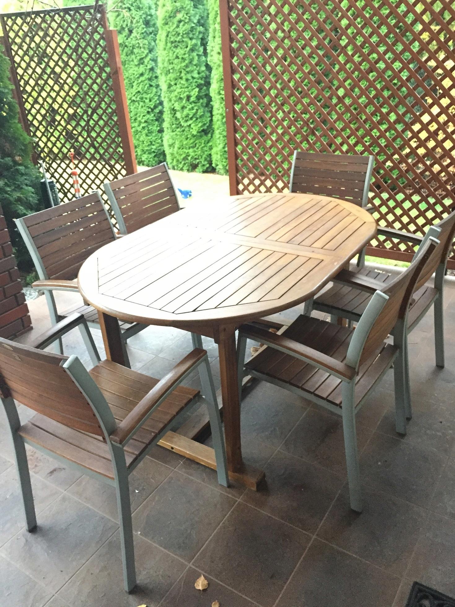 Stół Ogrodowy Krzesła Jutlandia 7895918925 Oficjalne