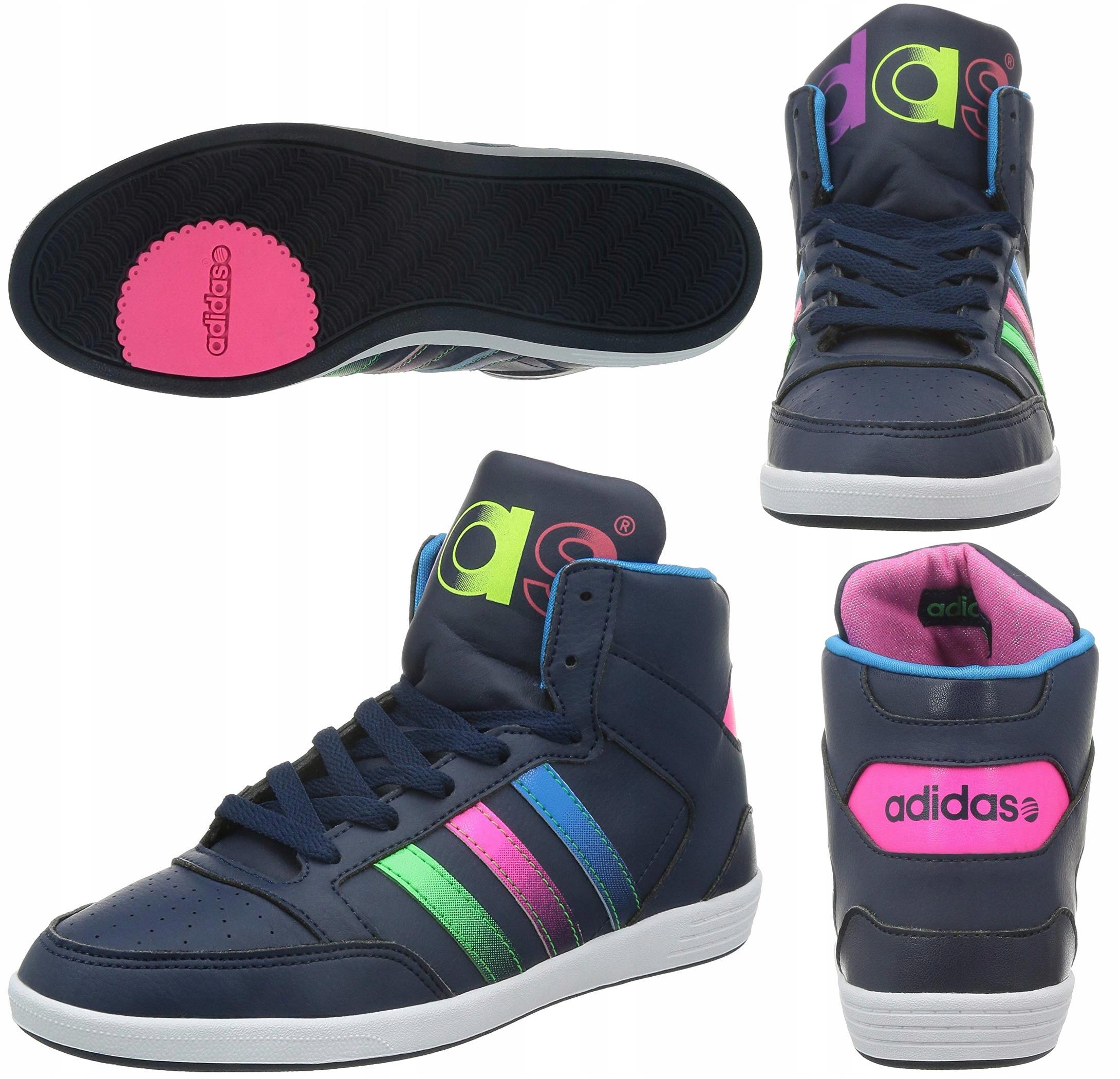 Adidas Hoops Street buty damskie sportowe 39 13