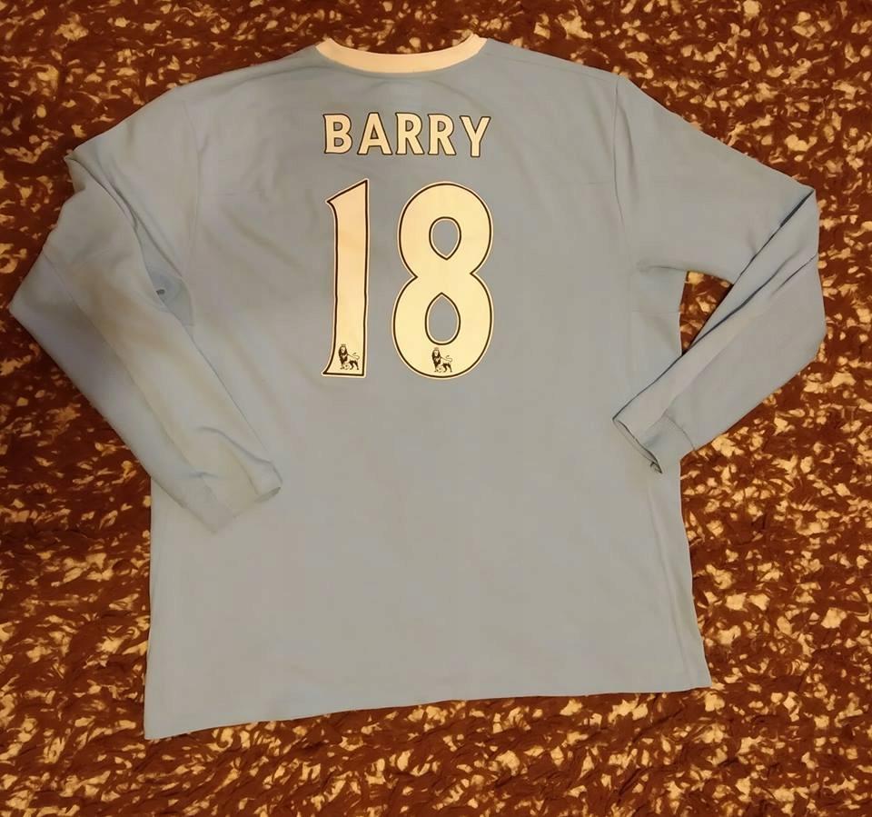 Koszulka Manchester City BARRY 18 RETRO OLDSchool