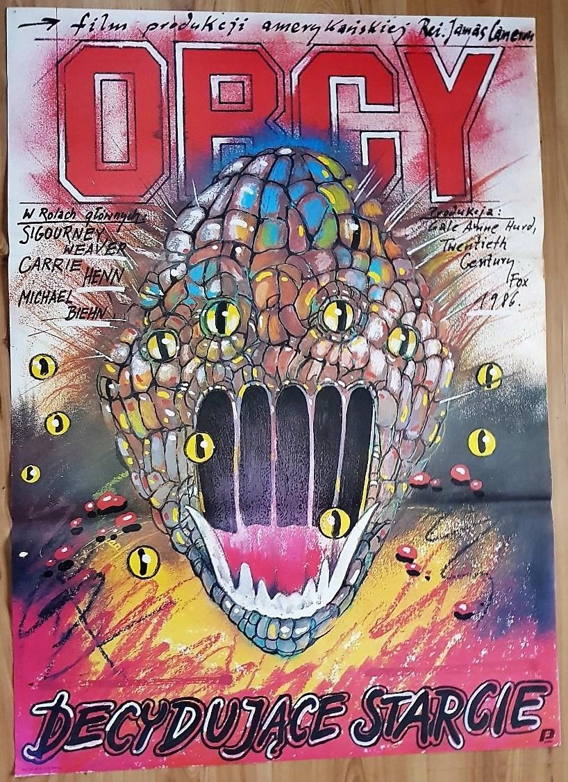 OBCY Decydujące starcie plakat filmowy Pągowski 87