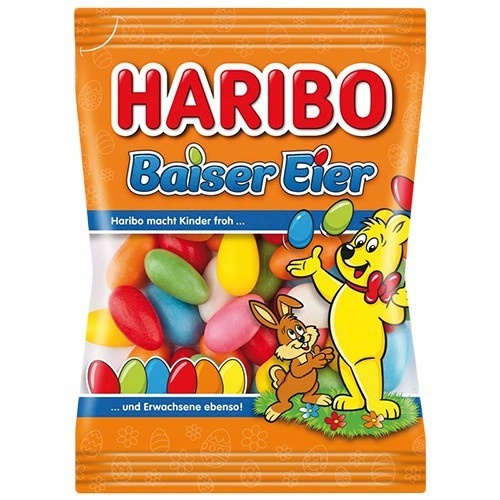 HARIBO BAISER EIER Z NIEMIEC 175 G