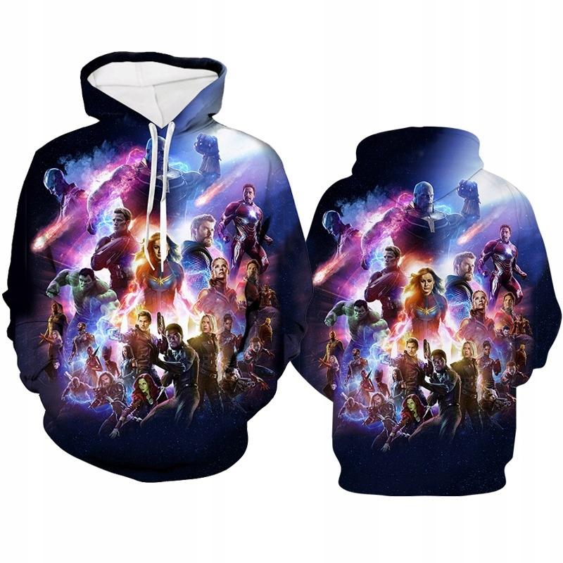 C30 Bluza Avengers Endgame Marvel __5 wzorów M