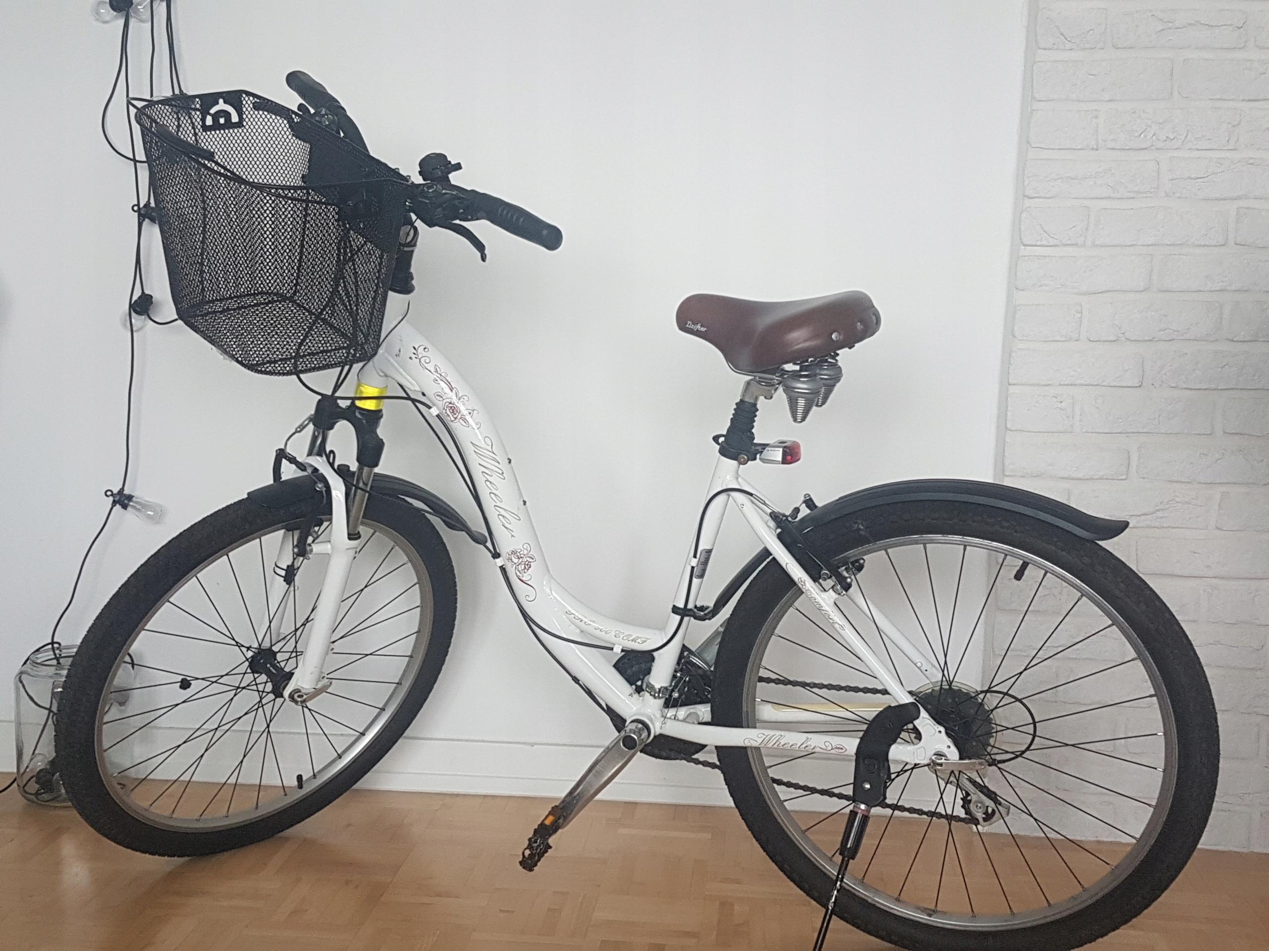 Rower WHEELER PRO 500 COMFORT DAMKA rower miejski