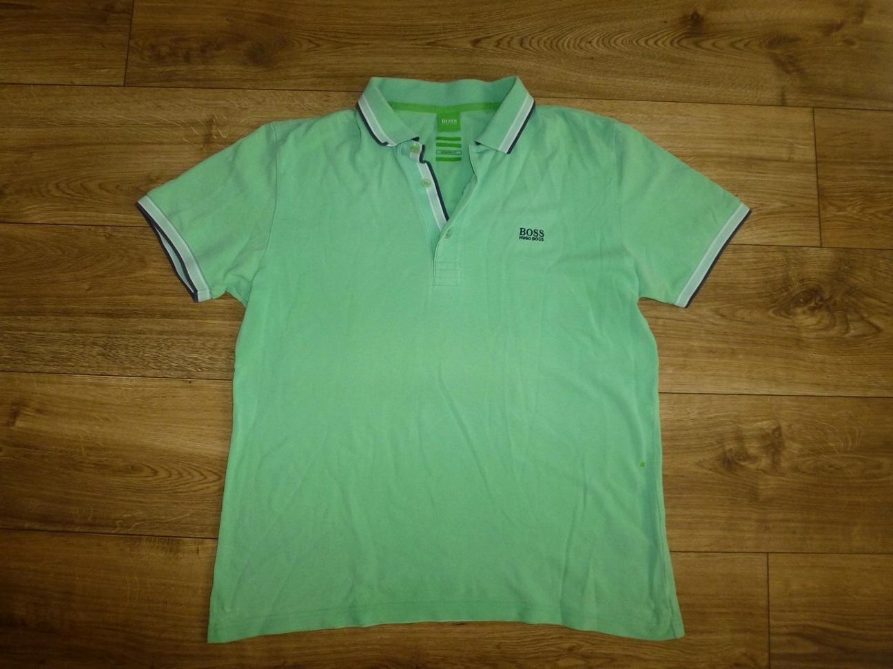 Hugo Boss koszulka polo męska L oryginalna