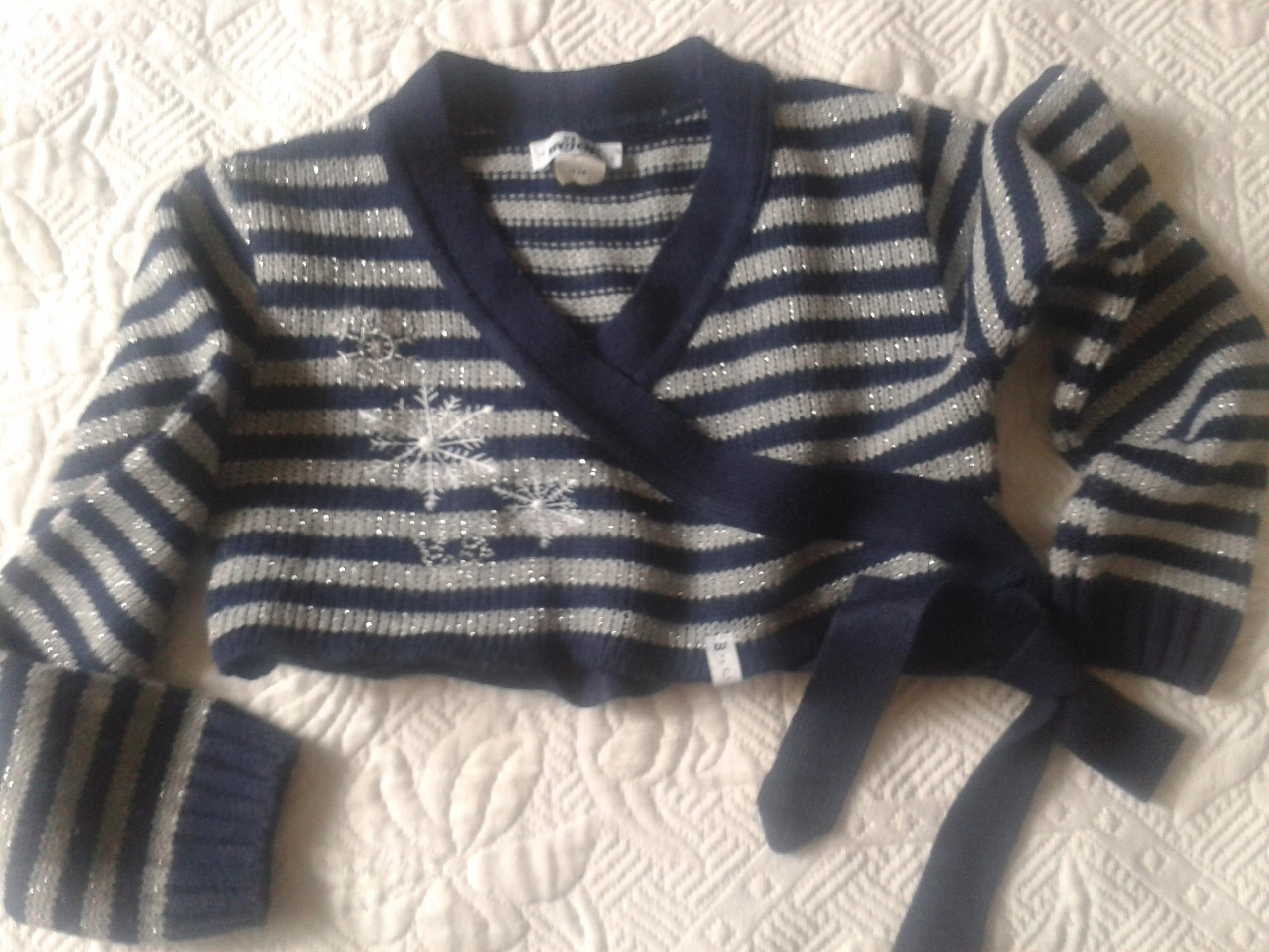 Sweterek ''Wójcik'' roz.128 bolerko