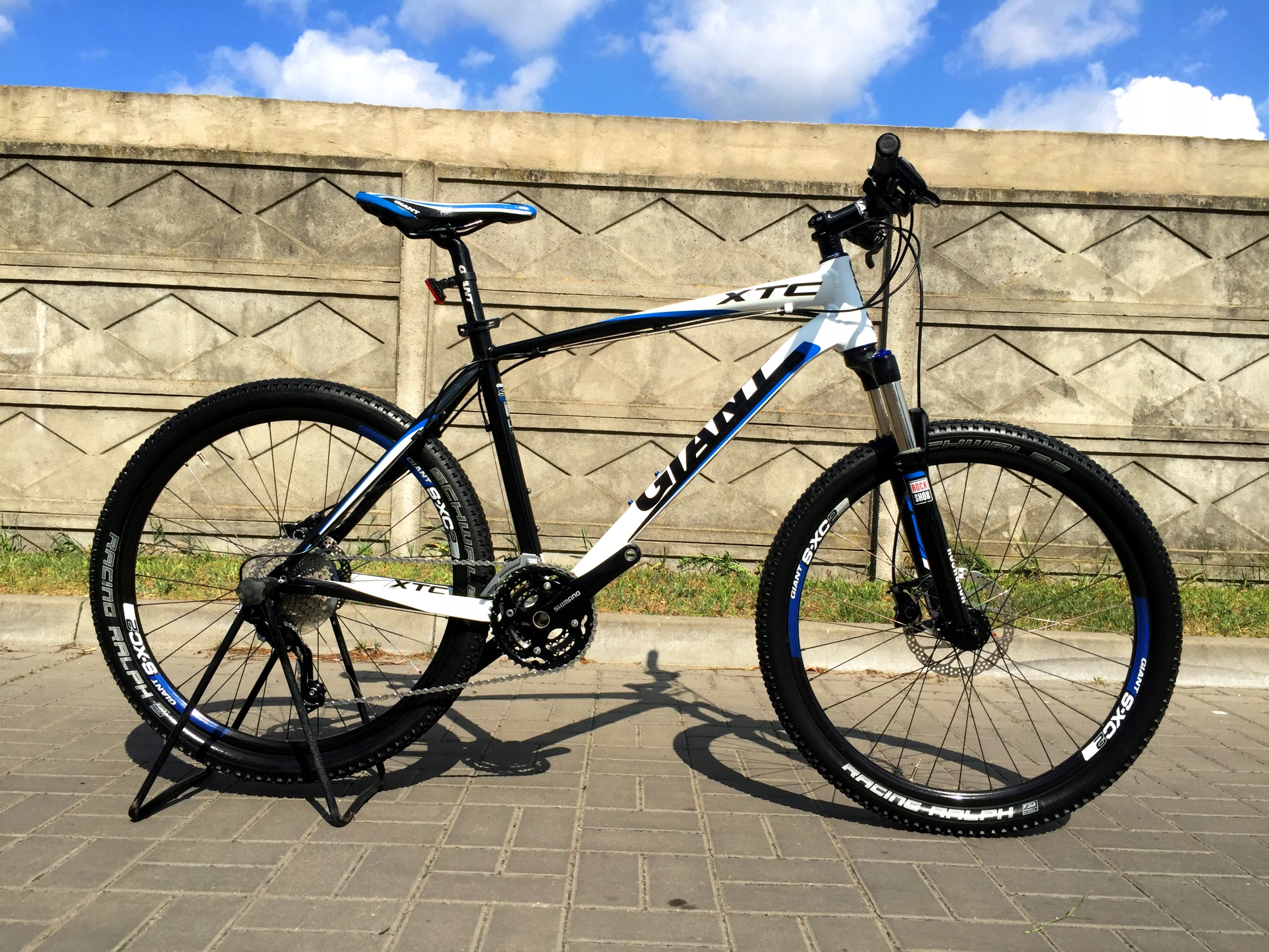 GIANT XTC Shimano DEORE XT Rock SHOX AIR merida gt