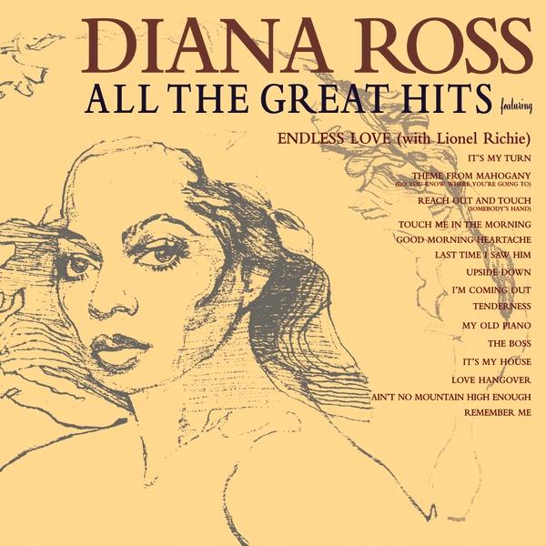 ROSS DIANA All The Greatest Hits _ KRÓLOWA SOUL