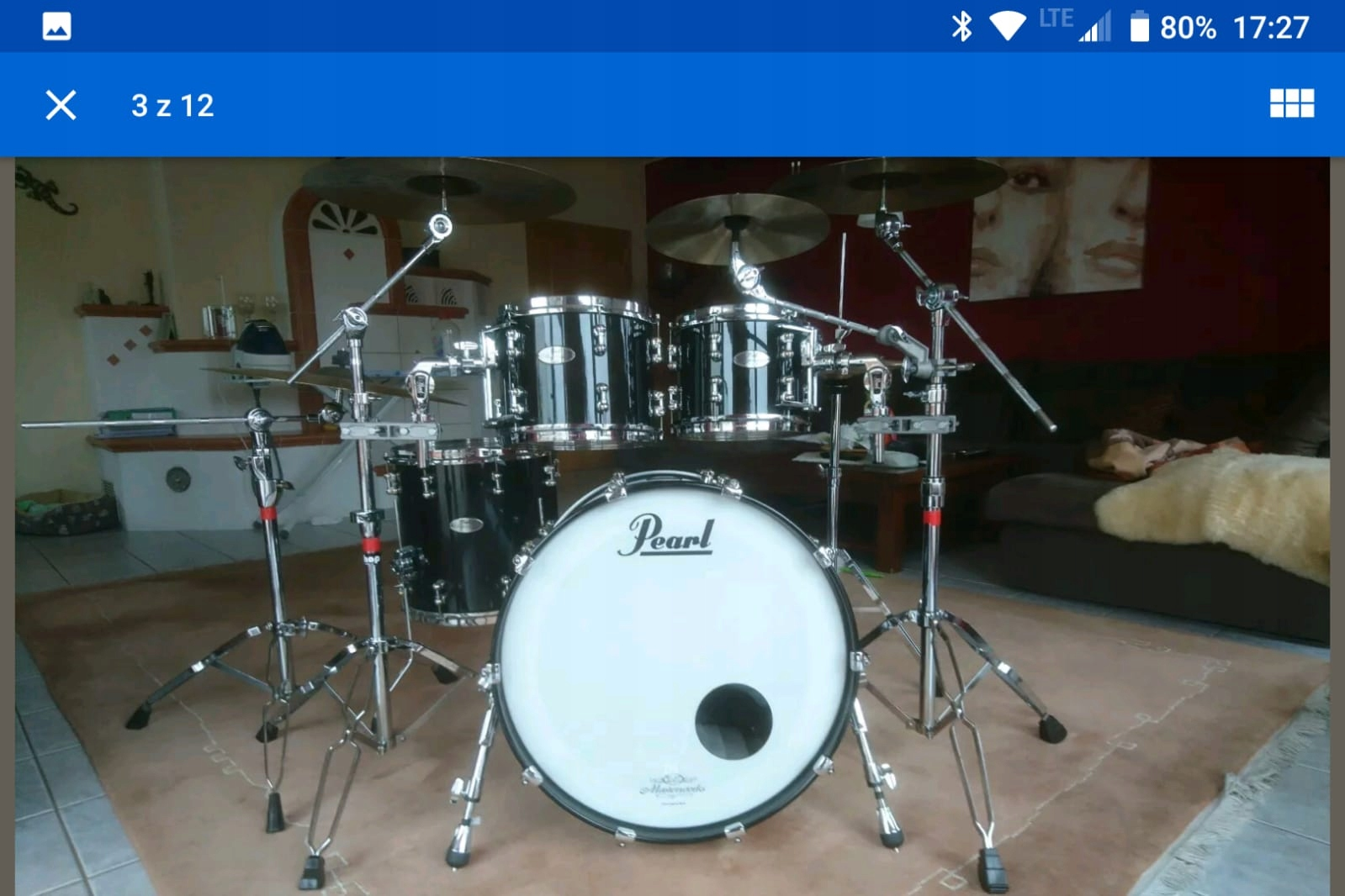 Pearl Reference Pure shell set