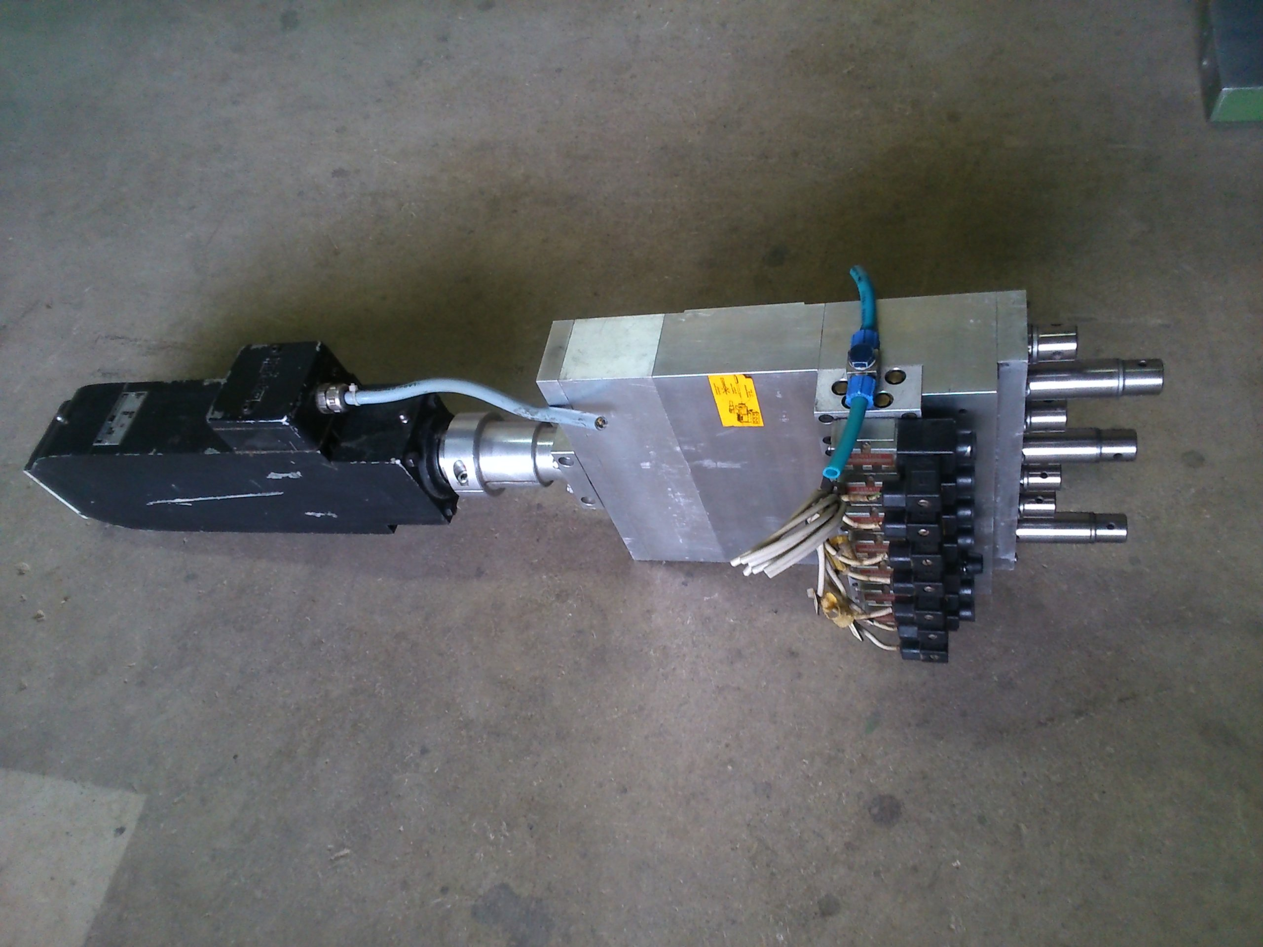 Wybitny Głowica wiertarska wielowrzecionowa CNC z silnikie - 7351502256 DG57
