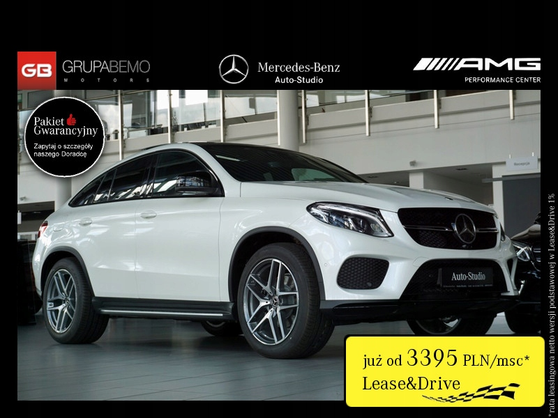 Mercedes GLE 350 350d 4M Coupe AMG PanoDach Distro