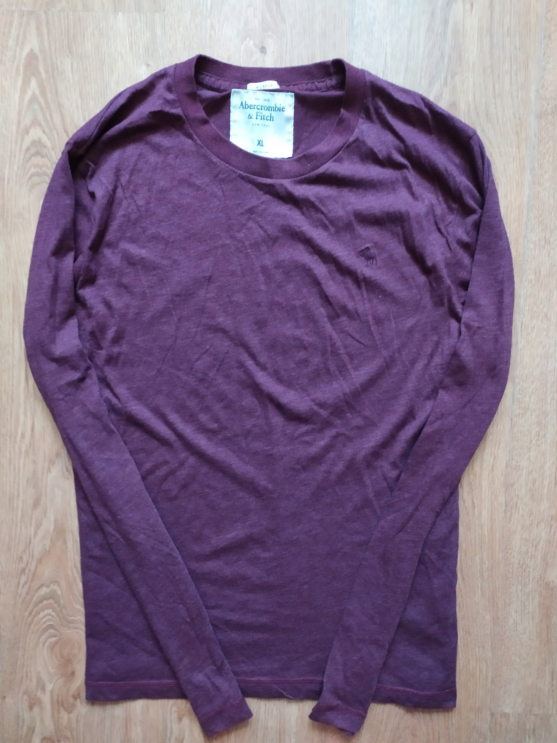 koszulka longAbercrombie Hollister XL bdb