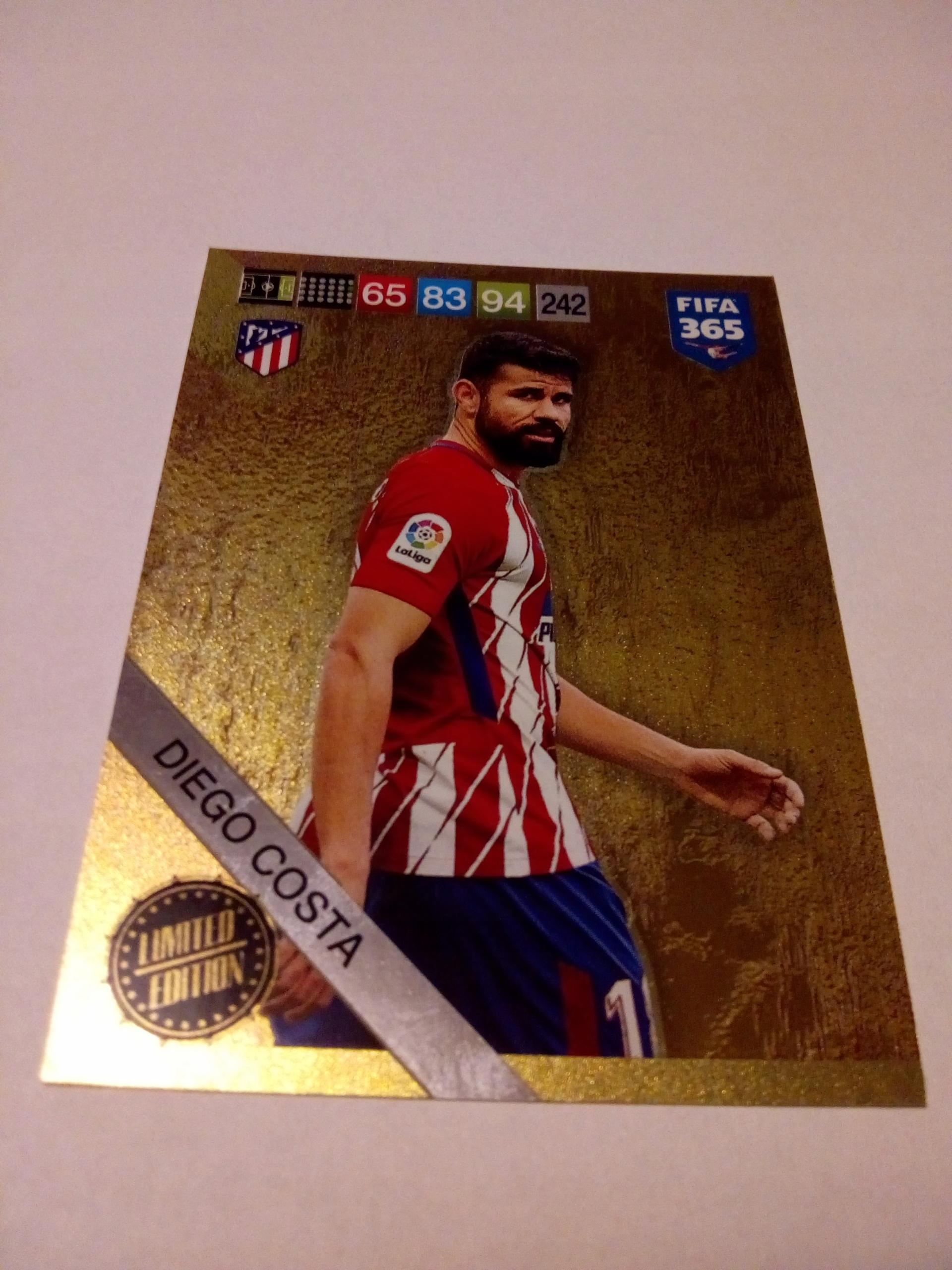 Karta Limited Diego Costa - FIFA 365 2019