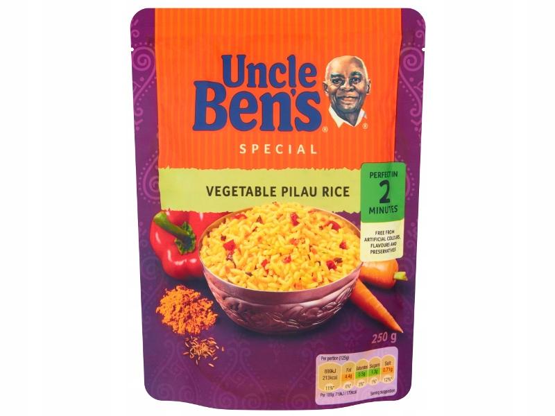 UNCLE BENS Ryż pilaw z warzywami 250g