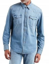T8857 LEVI'S BARSTOW Koszula męska JEANSOWA R.M