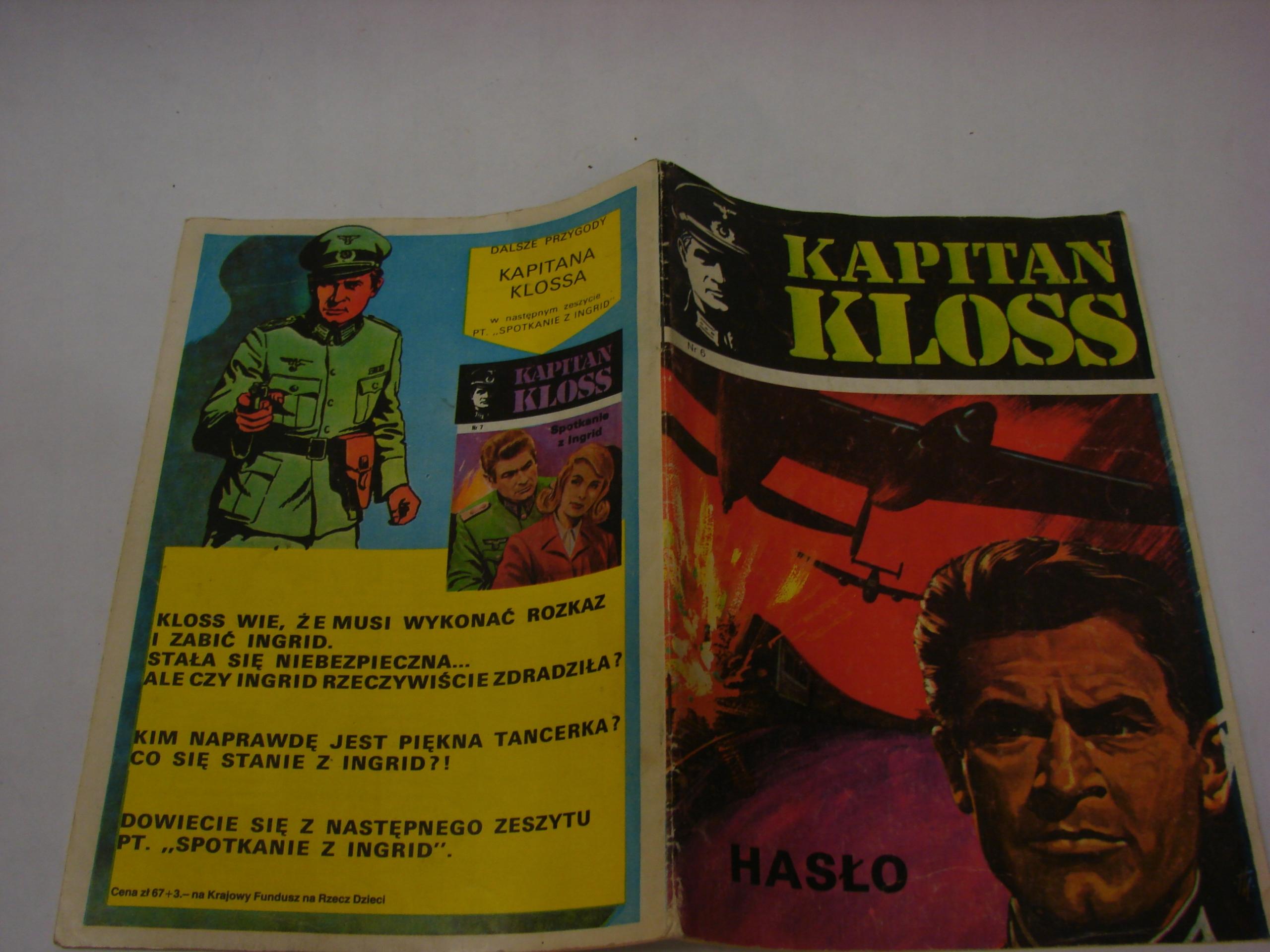 Kapitan Kloss -Hasło -II wydanie