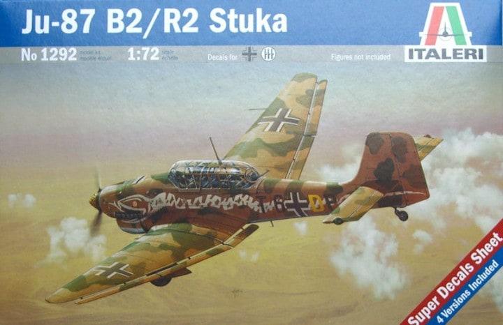 Ju-87 B2/R2 Stuka Italeri 1292