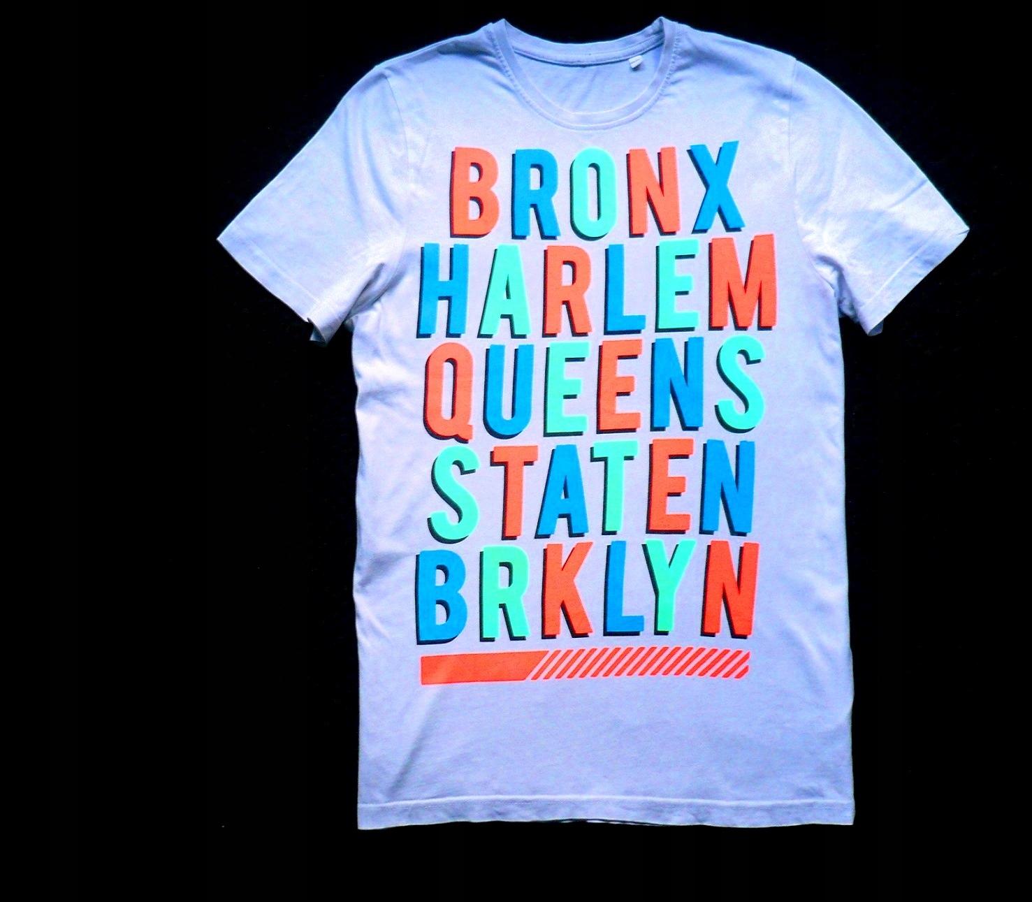 C&A T-shirt 164- 170 NEONOWE LITERKI