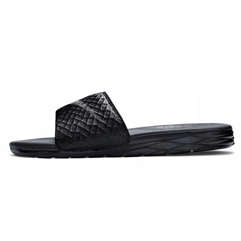 Nike Klapki Męskie Czarne r.45