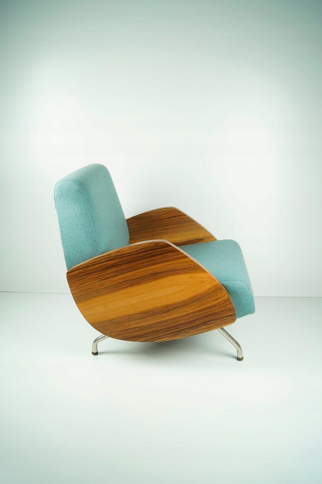 Fotel Typ 360 Vintage Design Lata 60 Prl Różański