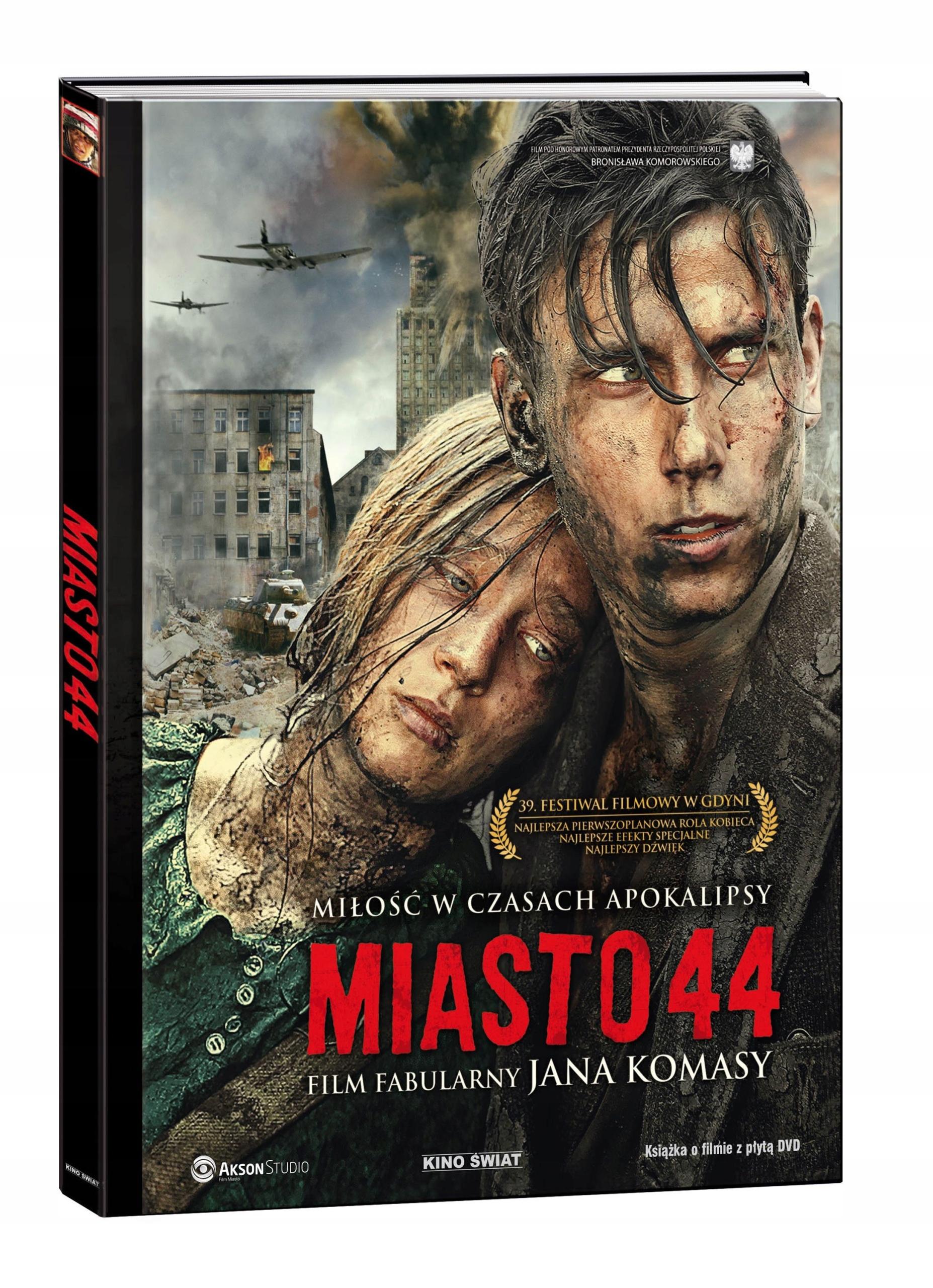 MIASTO 44 /KS+DVD/