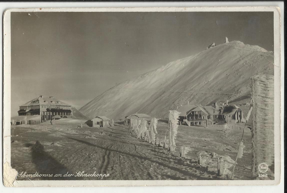Śnieżka Karkonosze Dom Śląski Śchronisko Zima