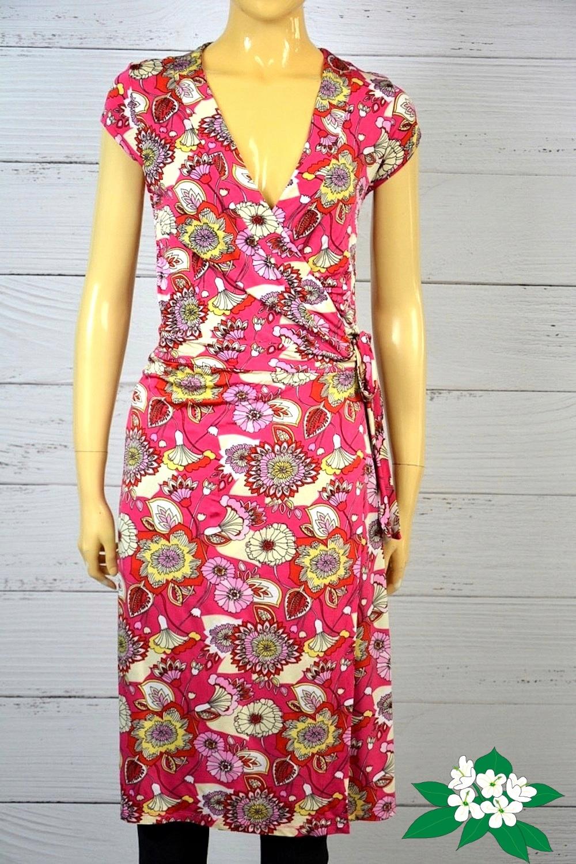 Kopertowa sukienka HM na zakładkę boho etno 38 M