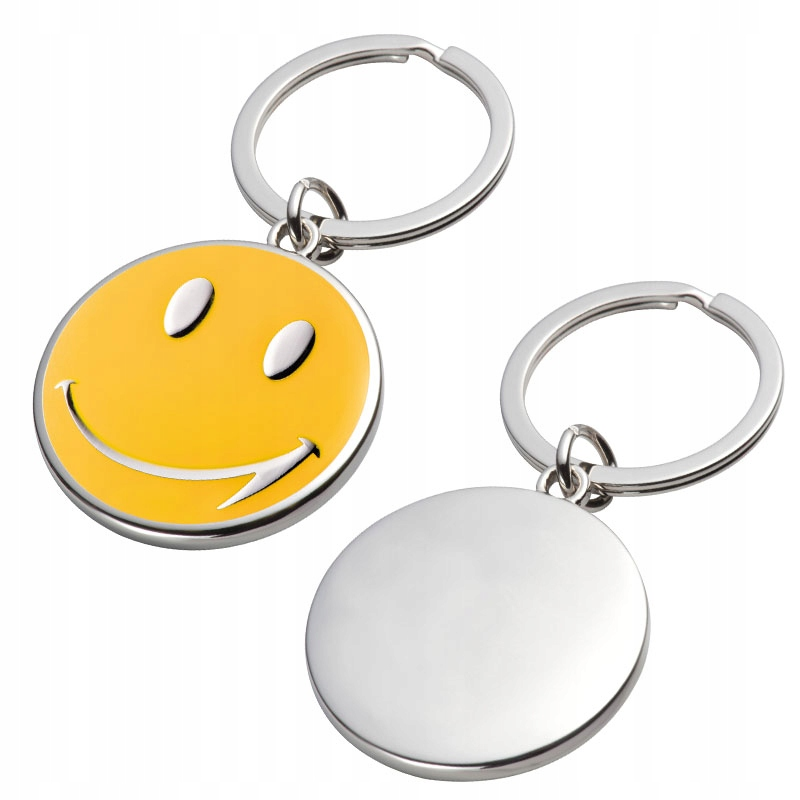 Brelok Emotikon Buzia Smile + Twój Grawer