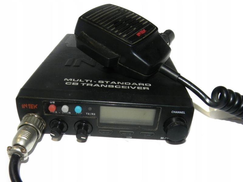 CB RADIO INTEK M-790 PLUS Z ANTENĄ OKAZJA!
