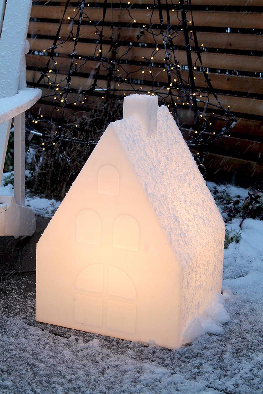 Domek bożonarodzeniowy LED stroik 57 cm H0131