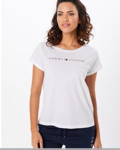 TOMMY HILFIGER RN TEE SS LOGO - T-shirt NADRUK M