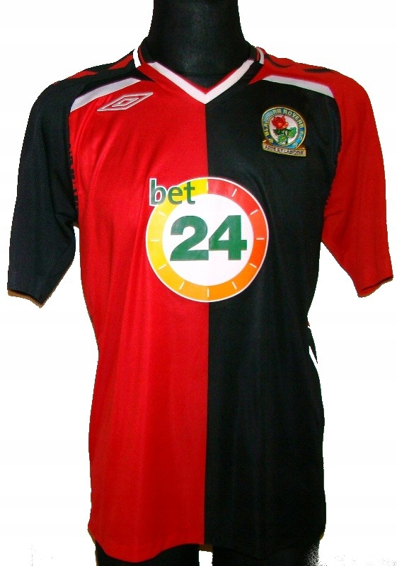 KOSZULKA BLACKBURN ROVERS FC UMBRO 2007 08 M NEW