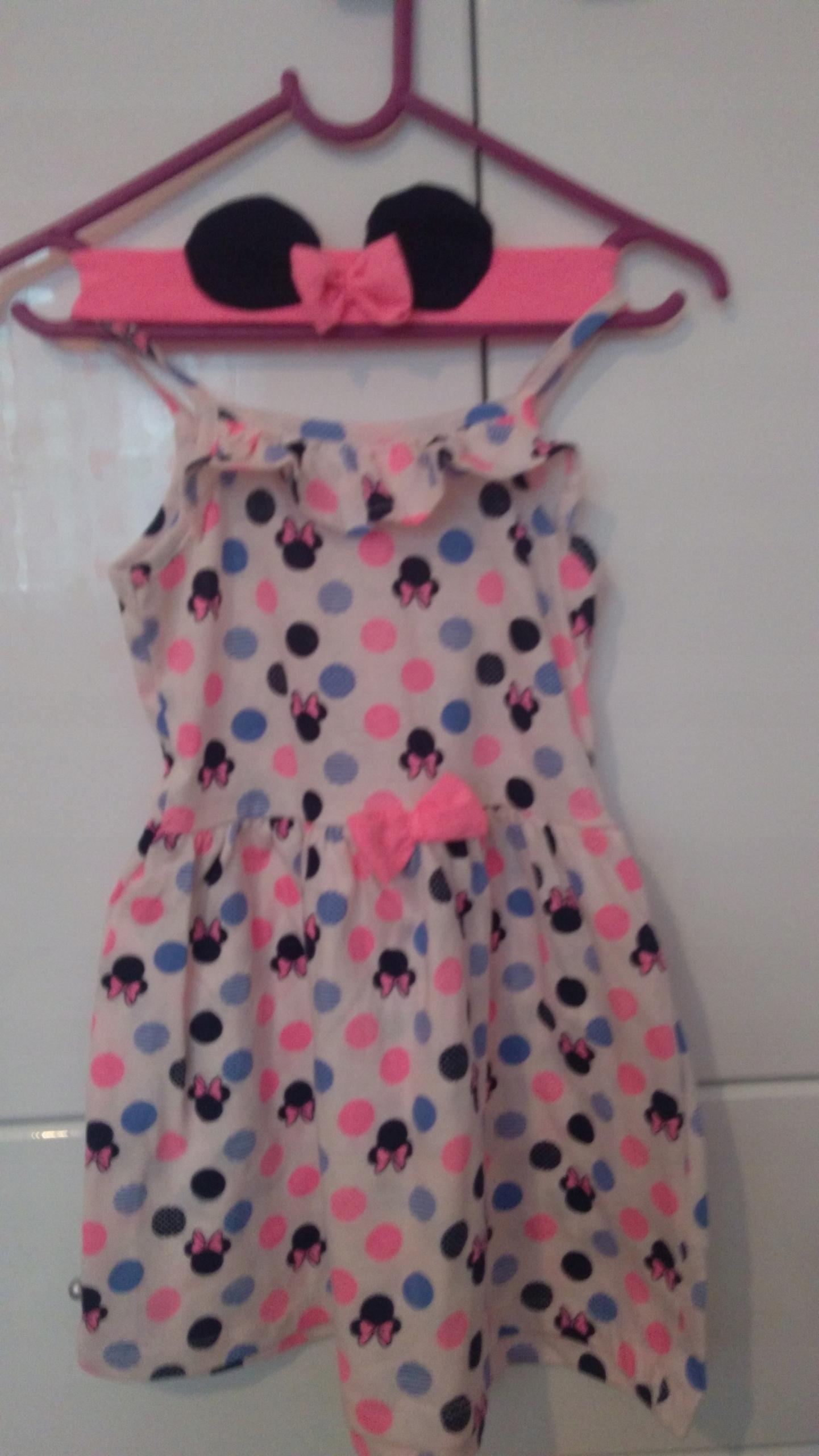 Sukienka Myszka Minnie z opaską, nowa rozmiar 92