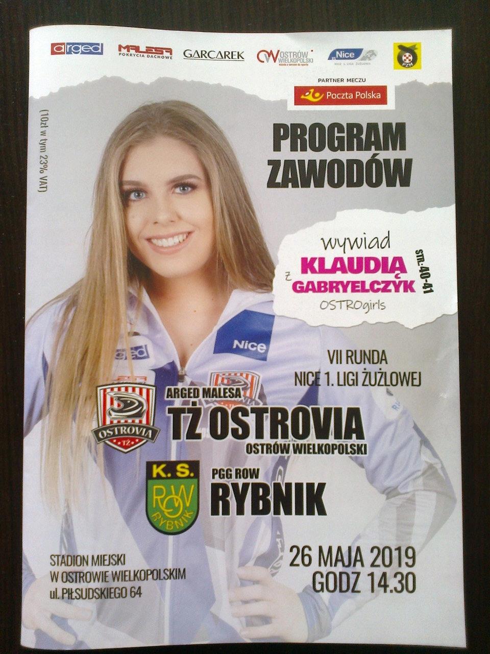 OSTROVIA -ROW RYBNIK 2019