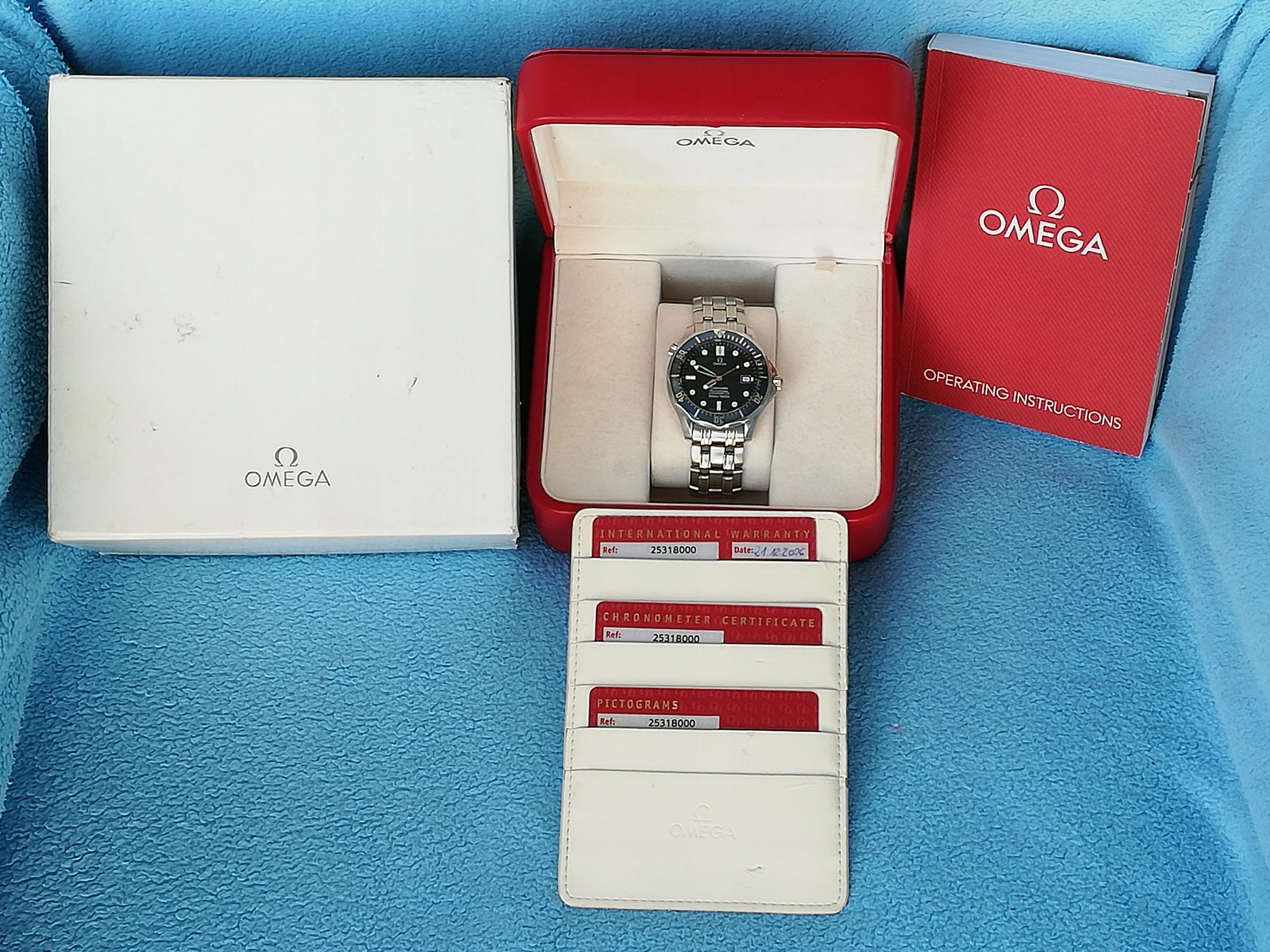 Omega Seamaster Automatic Chronometer Bond 41mm