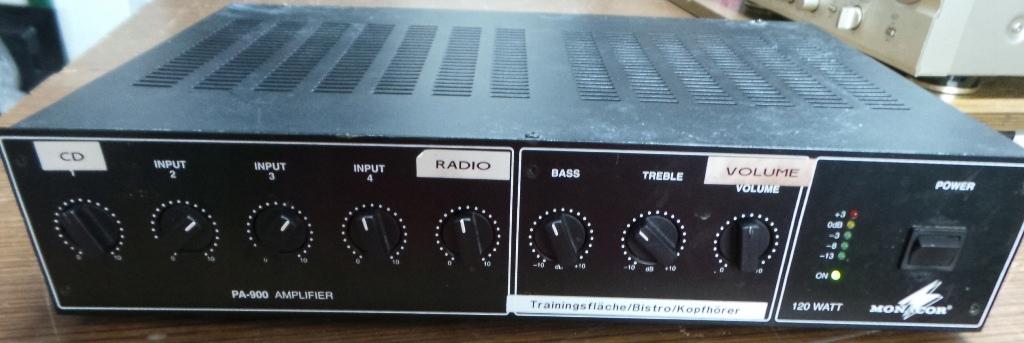 Monacor pa-900 radiowęzłowy do30 sierpnia aukcja!