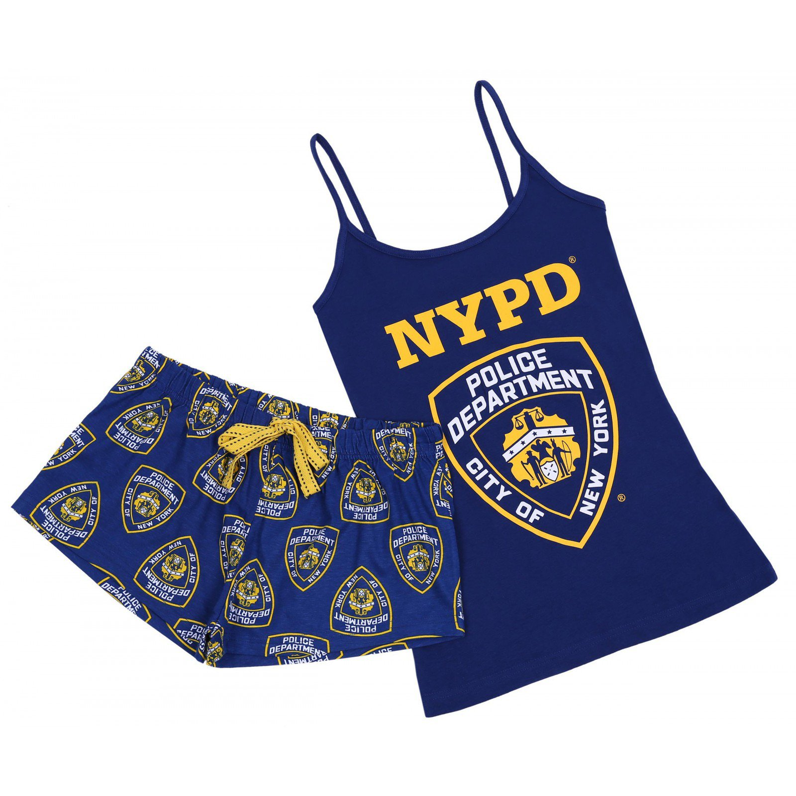 Granatowa piżama Police PRIMARK 34-36