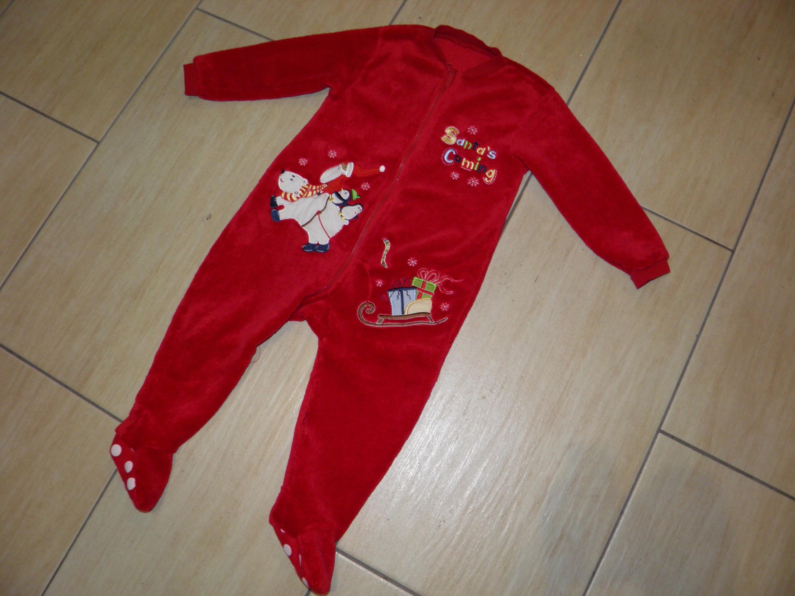 38 Kombinezon piżama pajacyk do spania r 86/92