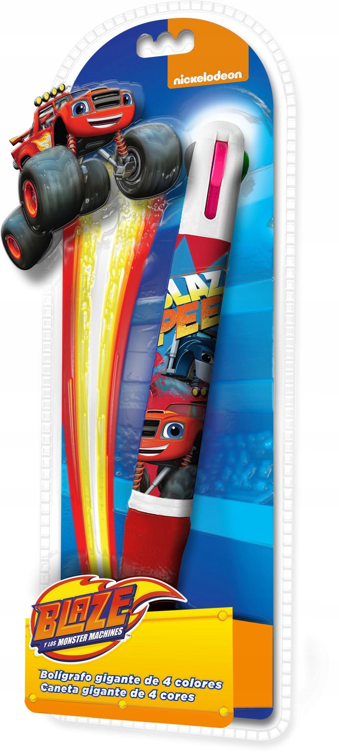 Euroswan Długopis Blaze i Mega Maszyny 4 kolory