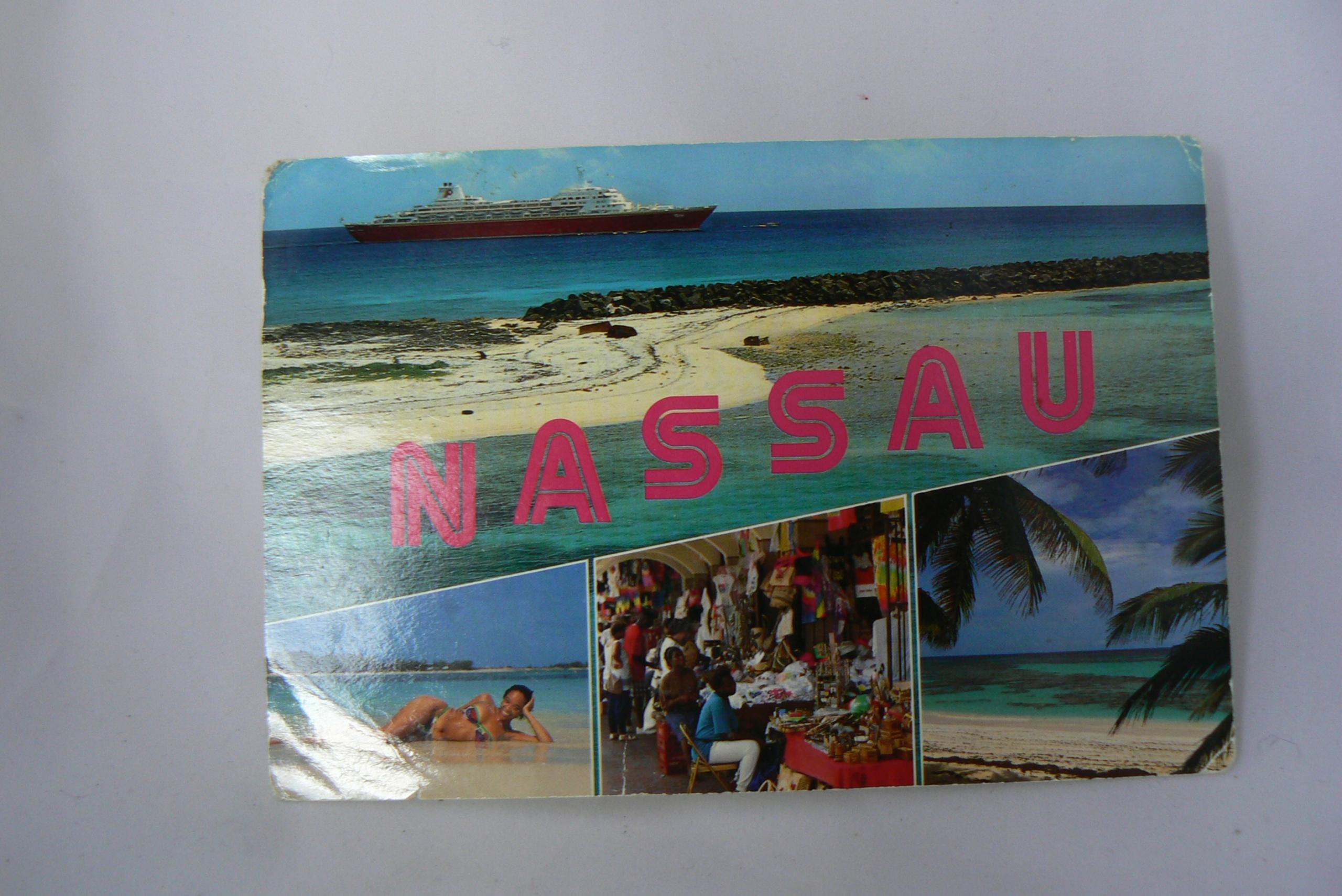 21-Pocztówka Wyspy Bahama Nassau z obiegu 1995