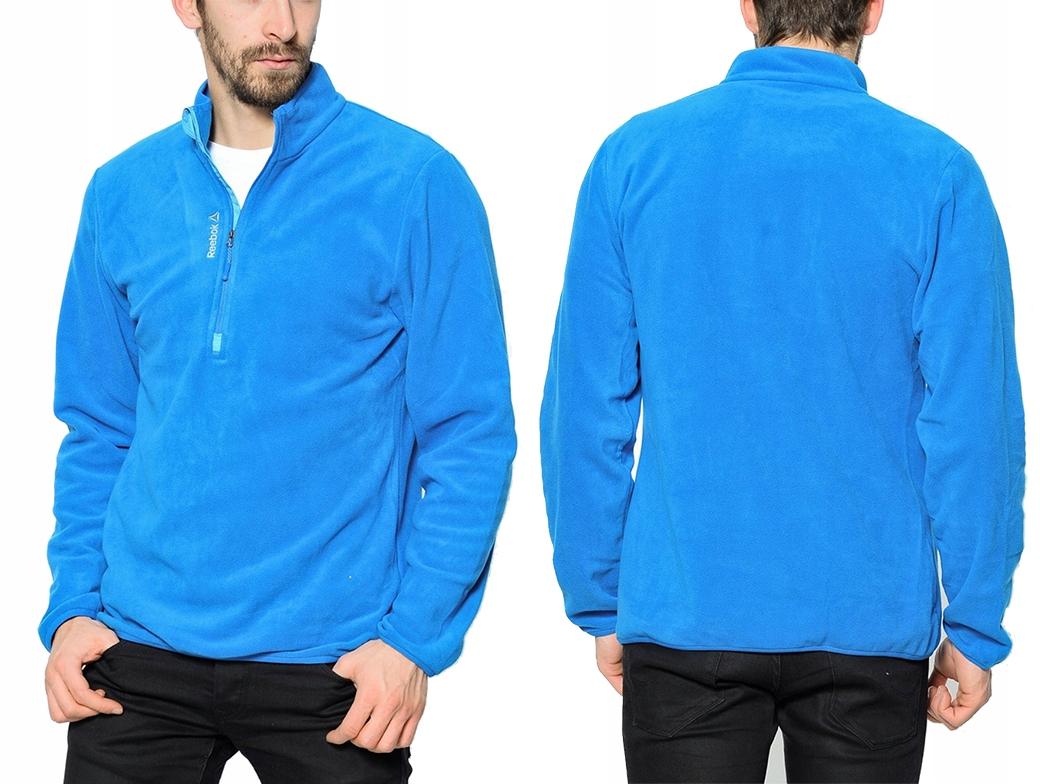 Bluza męska Reebok FM Zip Fleece Top AX9067