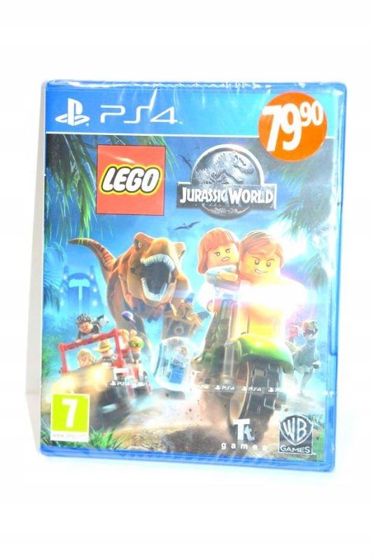 GRA PS4 LEGO JURASSIC WORLD