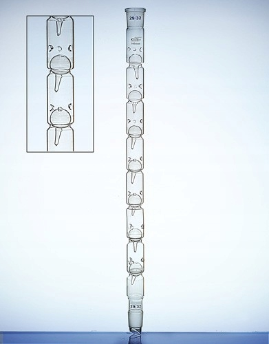 Kolumna Vigreux model 1100dł500mm2 x 29/32